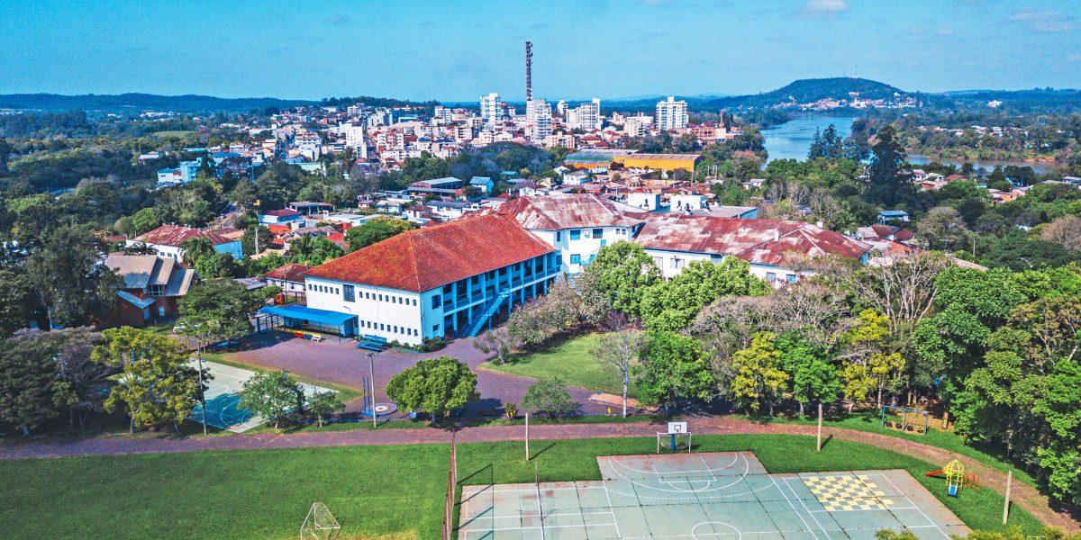 Colégio Martin Luther faz parte da história de desenvolvimento de Estrela (Foto: divulgação)